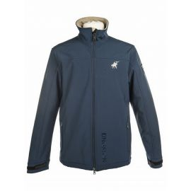 Veste softshell homme bleu -KINGSTON-